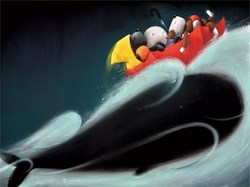 A Whale of a Time by Doug Hyde - Limited Edition on Paper sized 22x16 inches. Available from Whitewall Galleries
